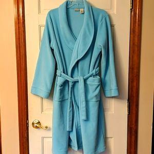 LL Bean Fleece Robe